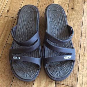 Crocs Patricia Women's Wedge Heel SlipOn Size 6